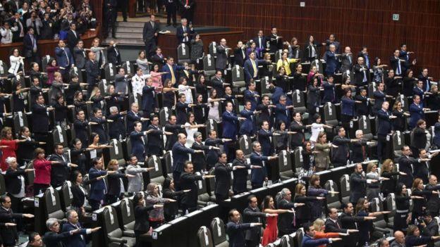 La Cámara de Diputados planeaba aprobar por unanimidad a la Guardia Nacional.