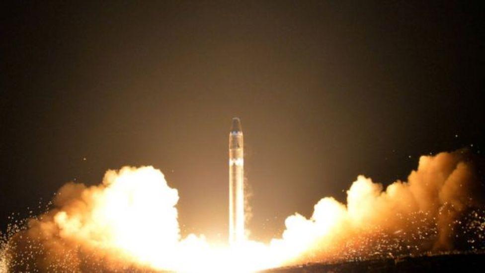 Un lanzamiento balístico de Corea del Norte