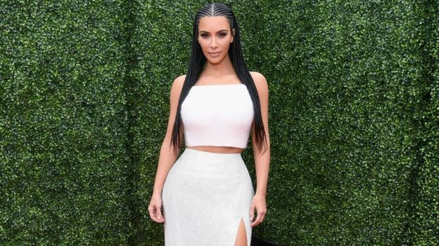 Kim Kardashian at the MTV