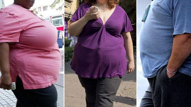 Gente obesa