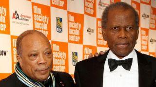 Quincy Jones and Sidney Poitier in 2011