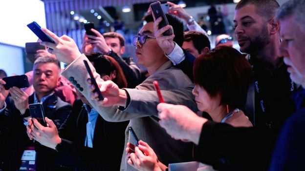 Mobile World Congress in Barcelona attracts around 100,000 attendees each year