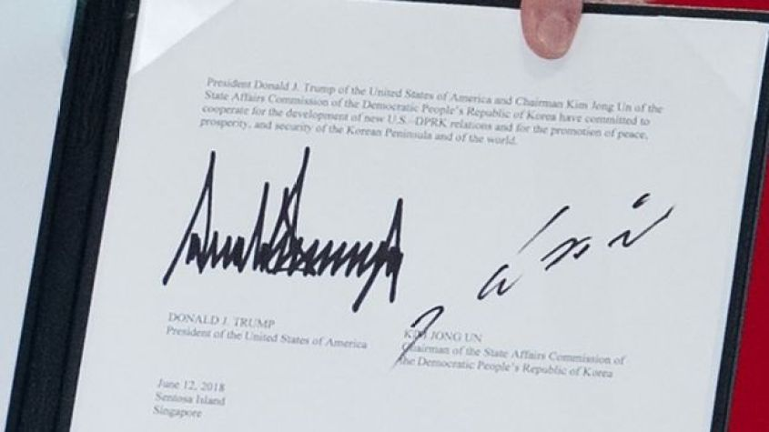 Document signed in Singapore