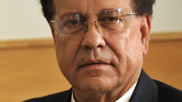 In this photograph taken on August 19, 2010, then Pakistani Punjab governor Salman Taseer poses in Multan. Pakistan has on February 29, 2016,