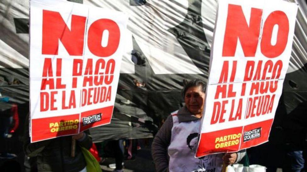 Protesta en Buenos Aires