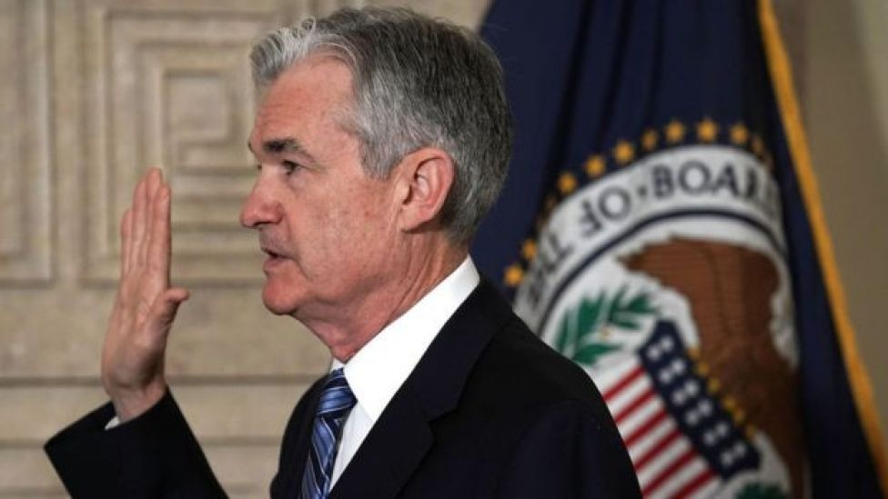 Jerome Powell jura su cargo como presidente de la Reserva Federal estadounidense