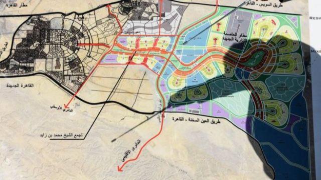 Plano de construção da nova capital do Egito