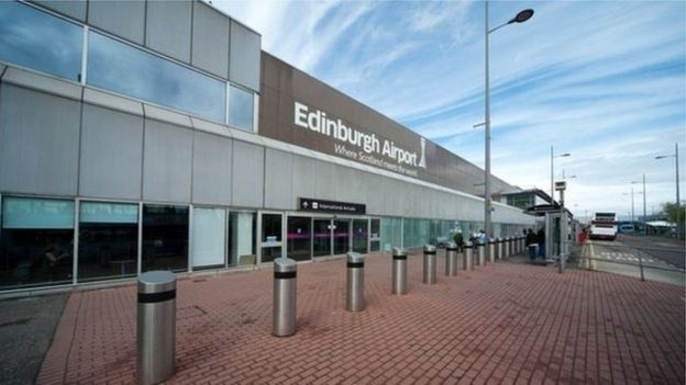 El aeropuerto de Edimburgo