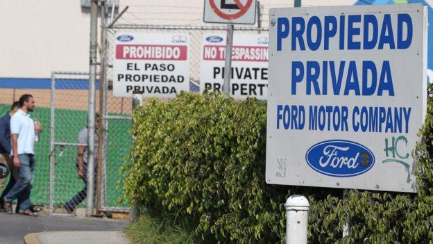 Planta de Ford en México