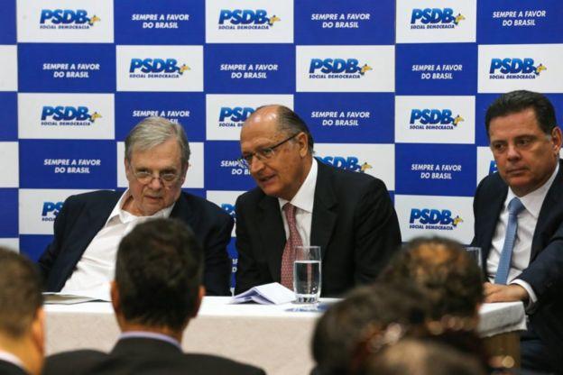 Tasso Jereissati e Geraldo Alckmin