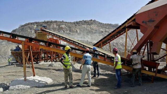 Construcción de un ferrocarril en Etiopía