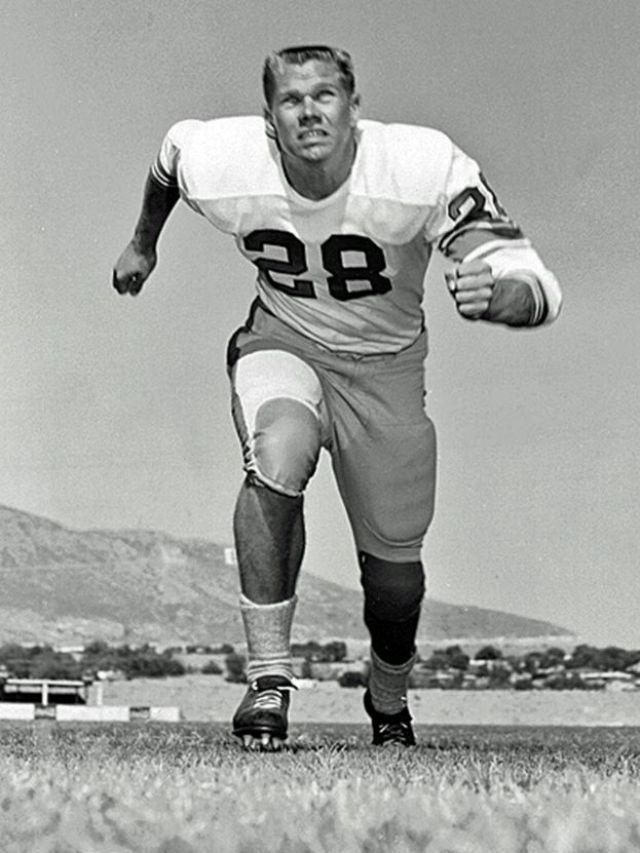 John Corcoran as a young athlete