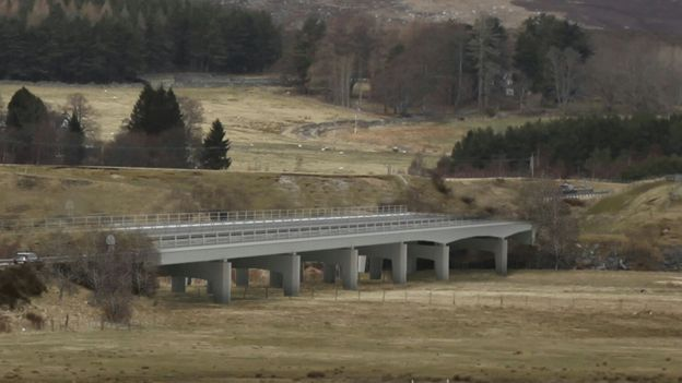 Option one for River Spey crossing