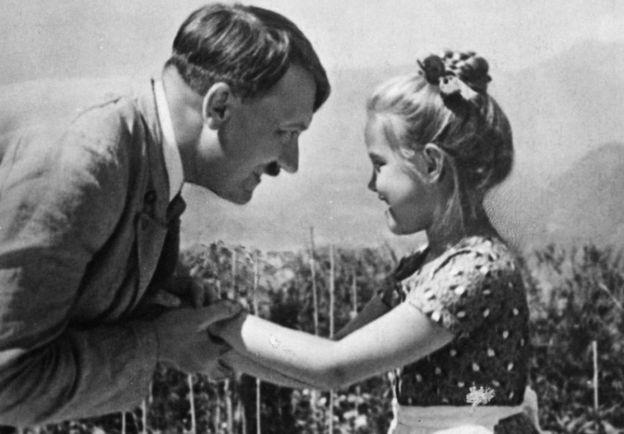 amistad entre Hitler y una niña judía