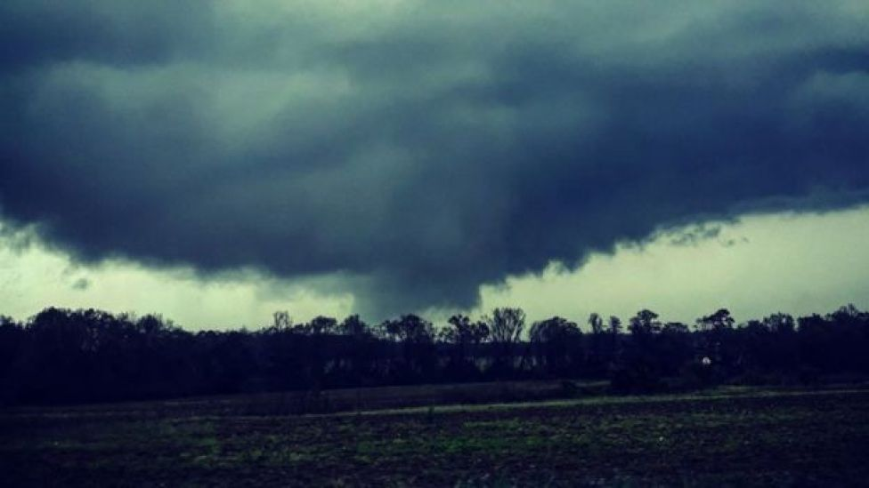 A tornado in Alabama