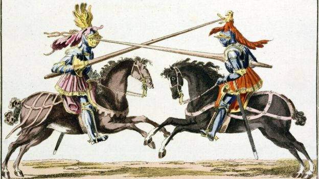 Duelo medieval