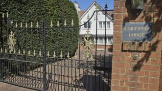 Helen Bailey and Ian Stewart's home in Royston, Hertfordshire