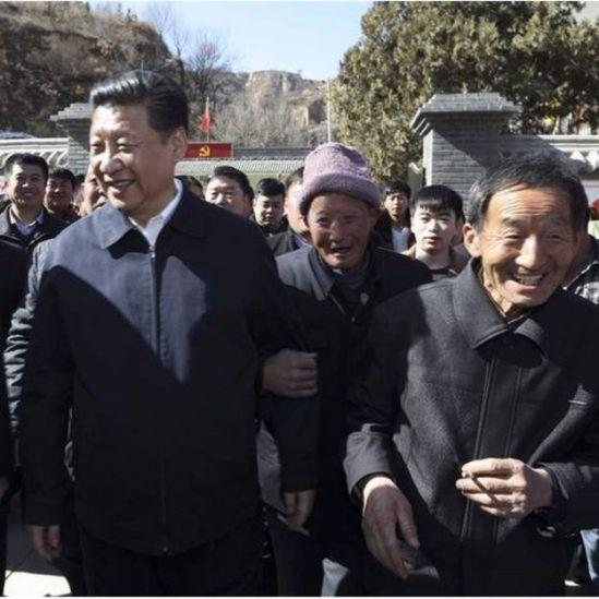 Presidente com o povo