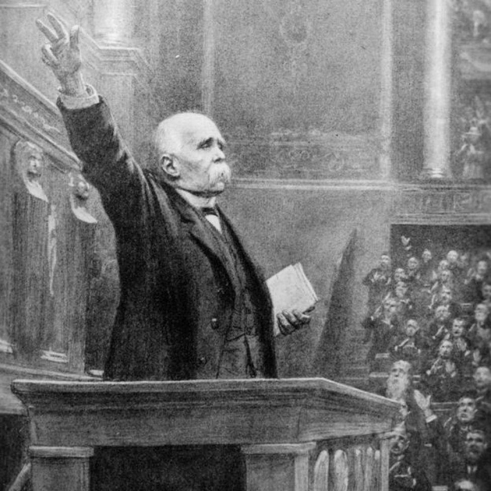 Georges Clemenceau en el Senado argentino