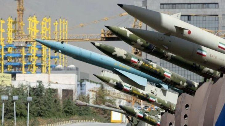 1980-88 ईरान इराक के बीच युद्ध के दौरान प्रदर्शित मिसाइलें