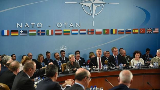 Reunión de la OTAn en Bruselas.
