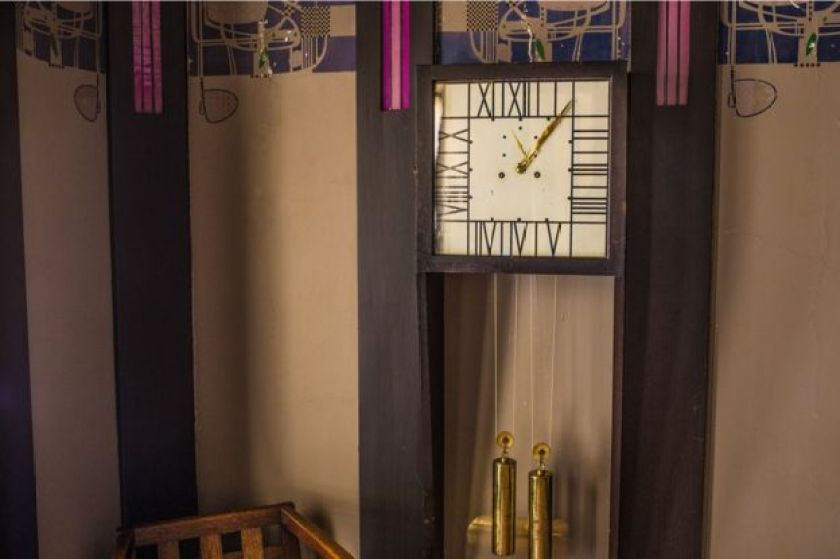 The house includes many priceless Mackintosh designs