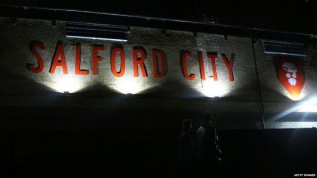 Salford City's Moor Lane stadium