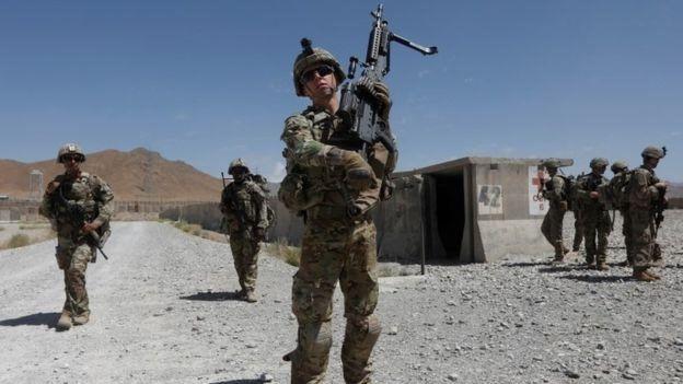 আফগানিস্তানে মার্কিন সৈন্য