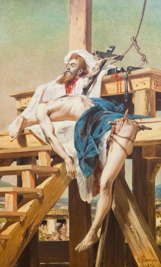 Tiradentes esquartejado, de Pedro Américo de Figueiredo e Melo