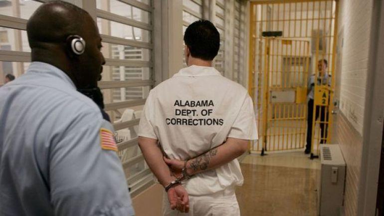 Un preso en Alabama