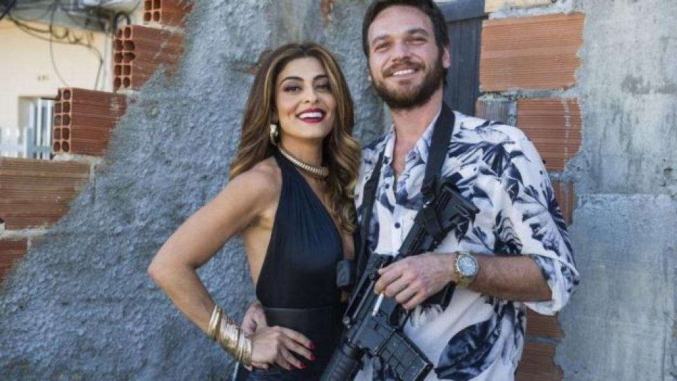 Juliana Paes e Emilio Dantas