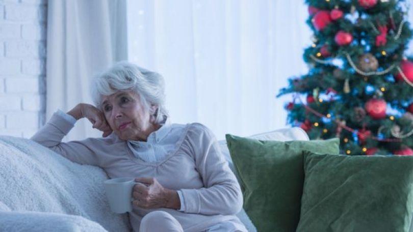 Mulher dozinha no Natal