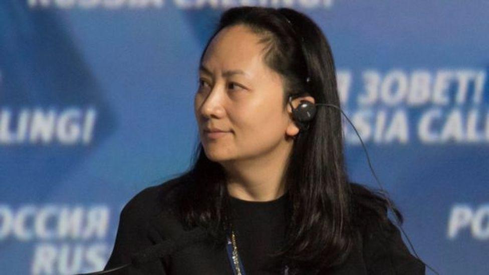Meng Wanzhou da Huawei
