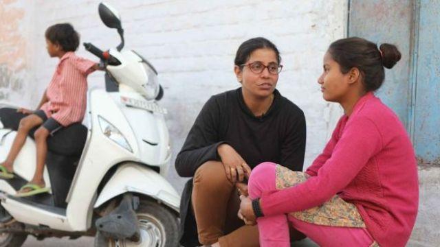 Preeti Yadav y Monika. (Foto: Peter Leng / Neha Sharma)