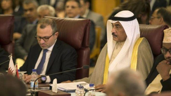 جانب من اجتماع وزراء خارجية دول الجامعة العربية