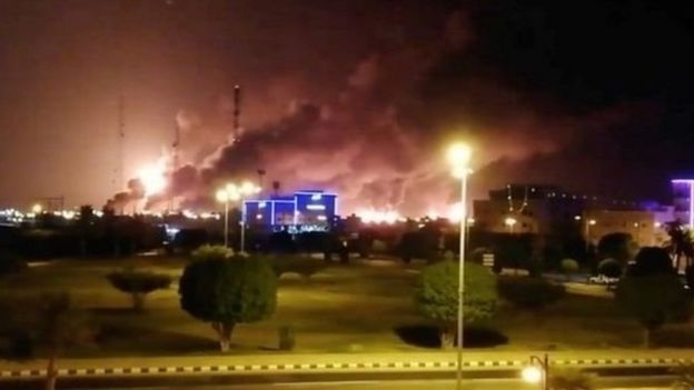 Attack on Saudi oil installations