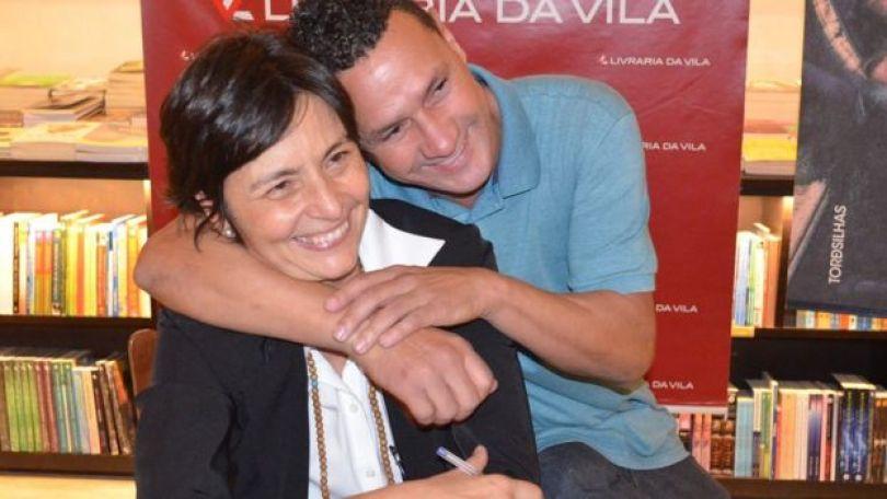 Soninha Francine e Paulo Sergio Rodrigues no lançamento do livro