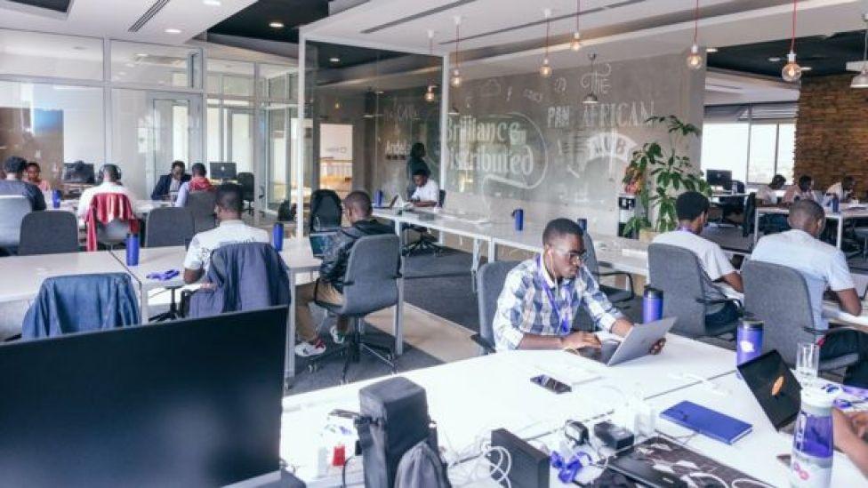 Andela's Kigali office