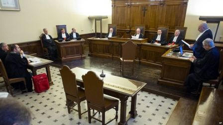 Vatican court where Wesolowski was due to have been tried