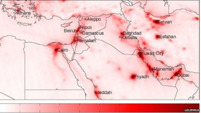 middle east nitrous oxides