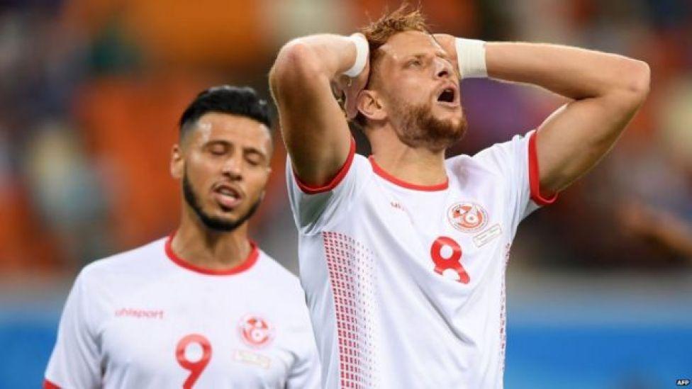 Tunisia players