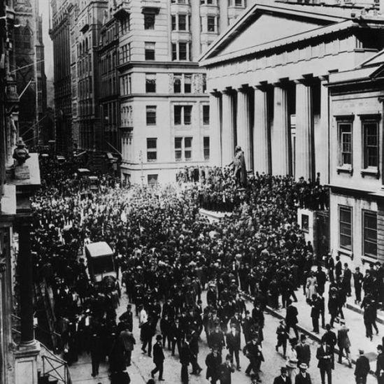El pánico en 1907.