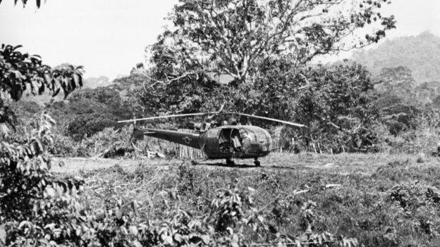 Helicóptero del ejército de Venezuela