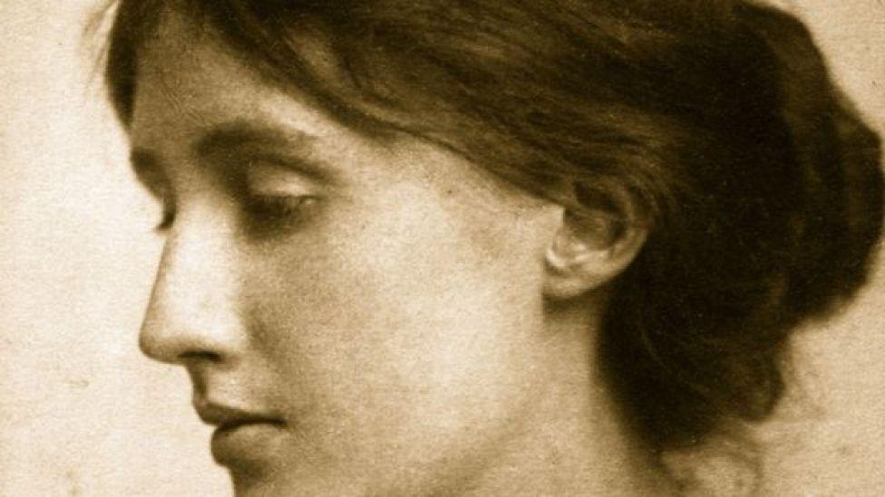 Foto de perfil da escritora britânica Virginia Woolf