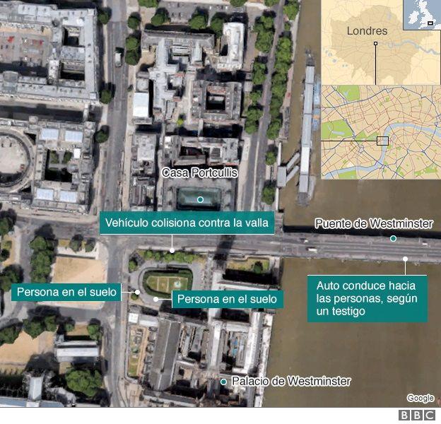 Mapa del incidente