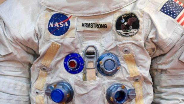 Traje espacial de Neil Armstrong.