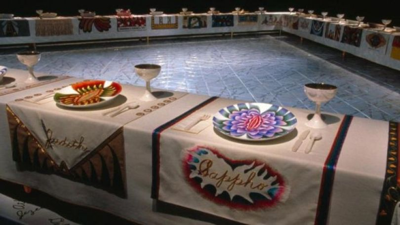 Dinner Party, de Judy Chicago
