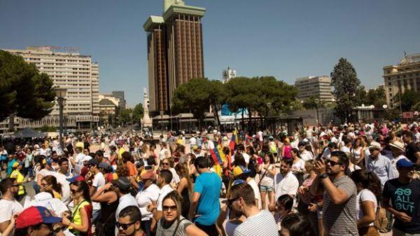 Venezolanos en Madrid
