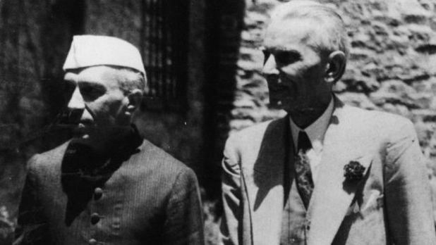 জওহারলাল নেহরু ও মুহাম্মদ আলী জিন্নাহ