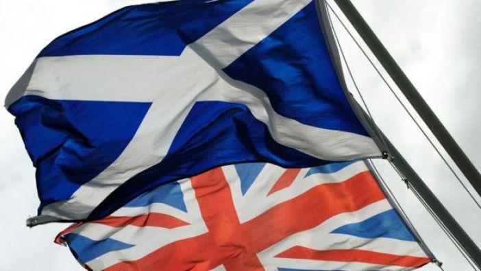 banderas de Escocia